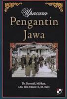 toko buku rahma: buku UPACARA PENGANTIN JAWA, pengarang purwadi, penerbit panji pustaka