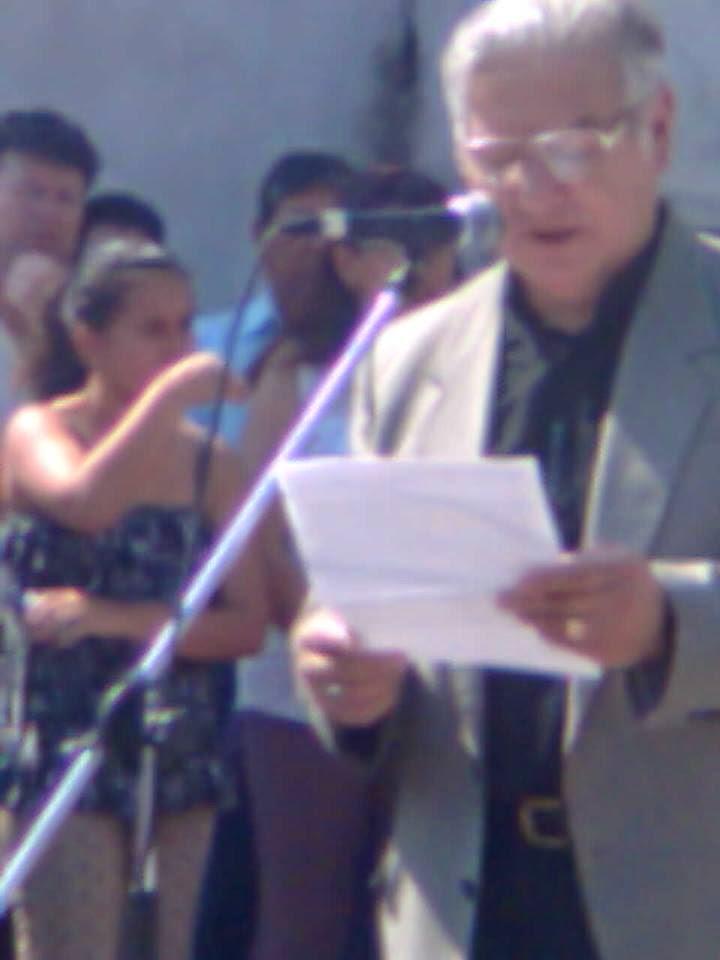Discurso representando a Red Amparo, por rescatar la Virgen de Guadalupe, Corrientes 23/2013