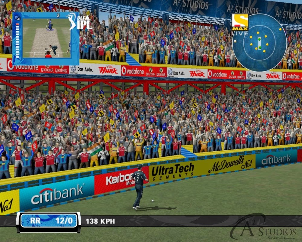 DLF IPL 4 Patch Cricket Fever for EA Sports Cricket 07