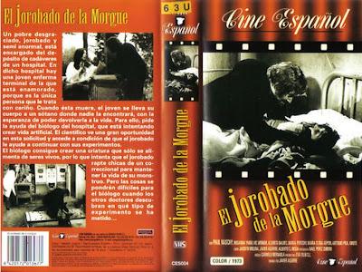 Cover, caratula, dvd: El jorobado de la morgue | 1973