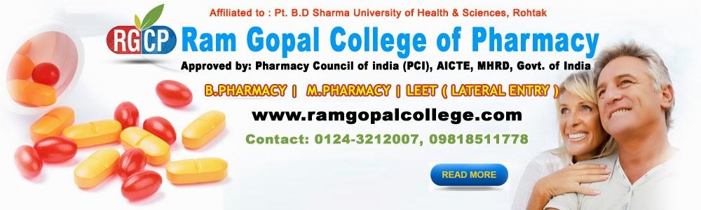 M. Pharmacy College in Haryana