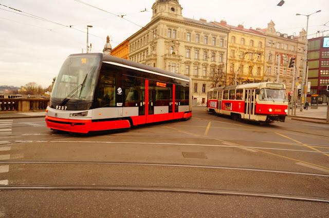 Старый и Новый Чешский Трамвай