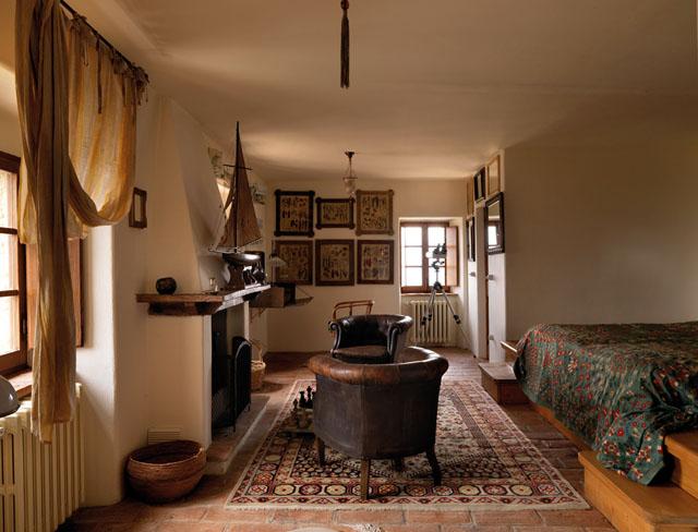 casa rural en italia habitacion suite rustica de lujo