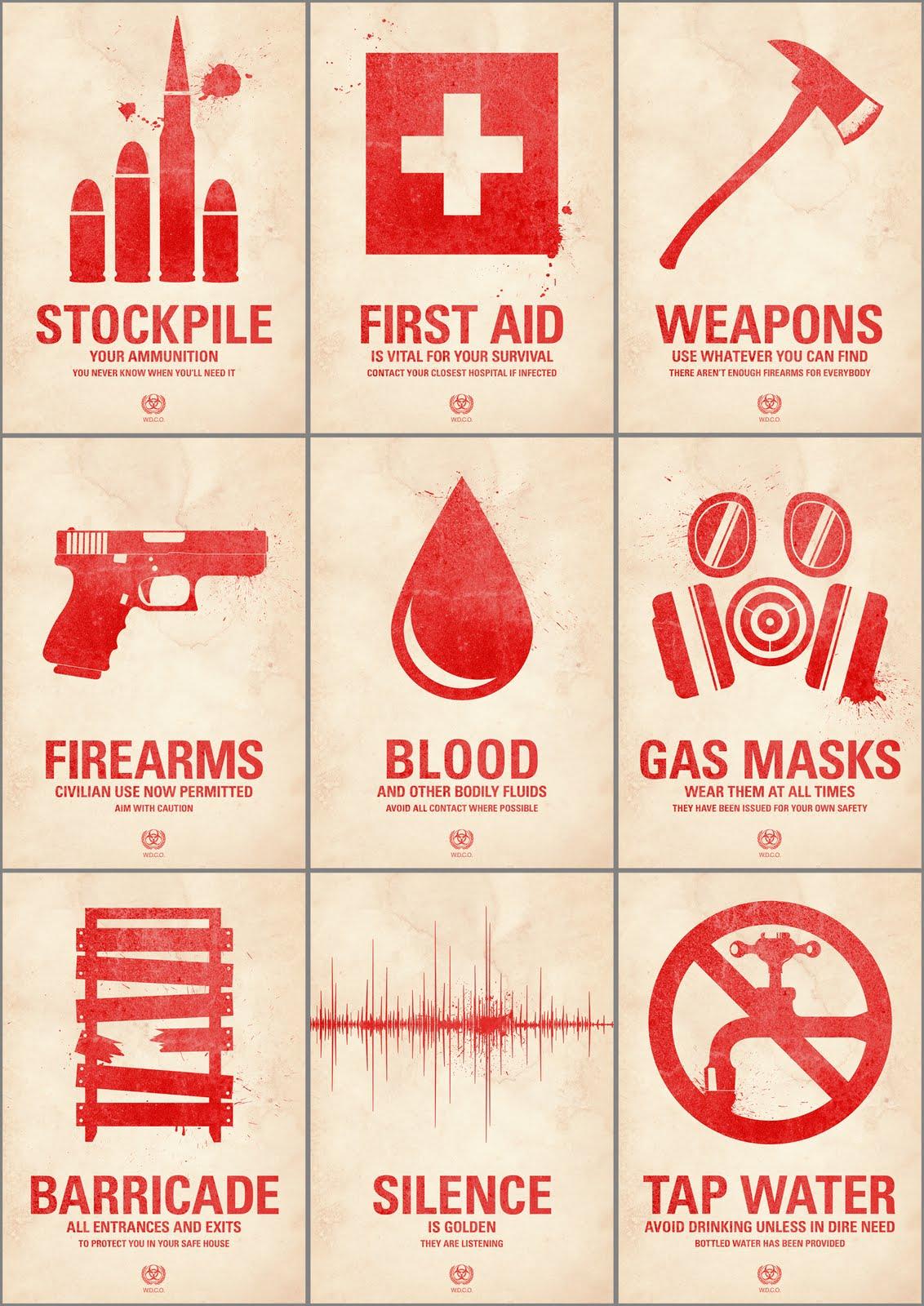 Munchypotato Quarantine Posters