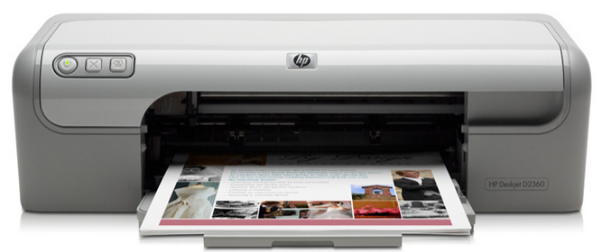 HP Deskjet d2360 Free Driver download