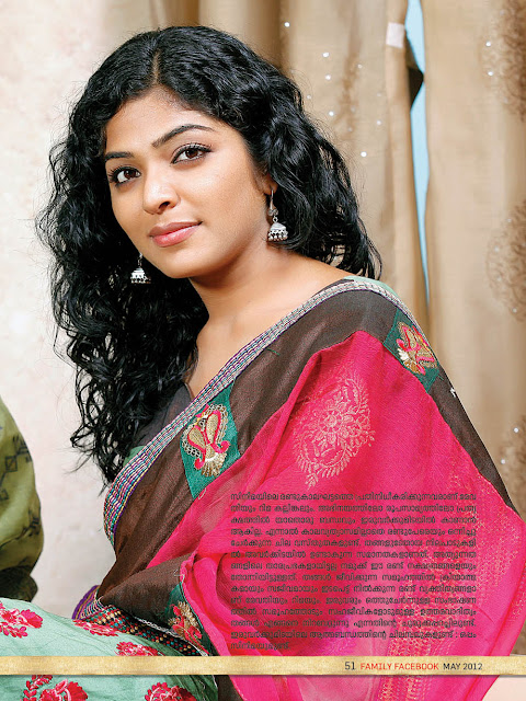 Rima Kallingal hot sexy saree
