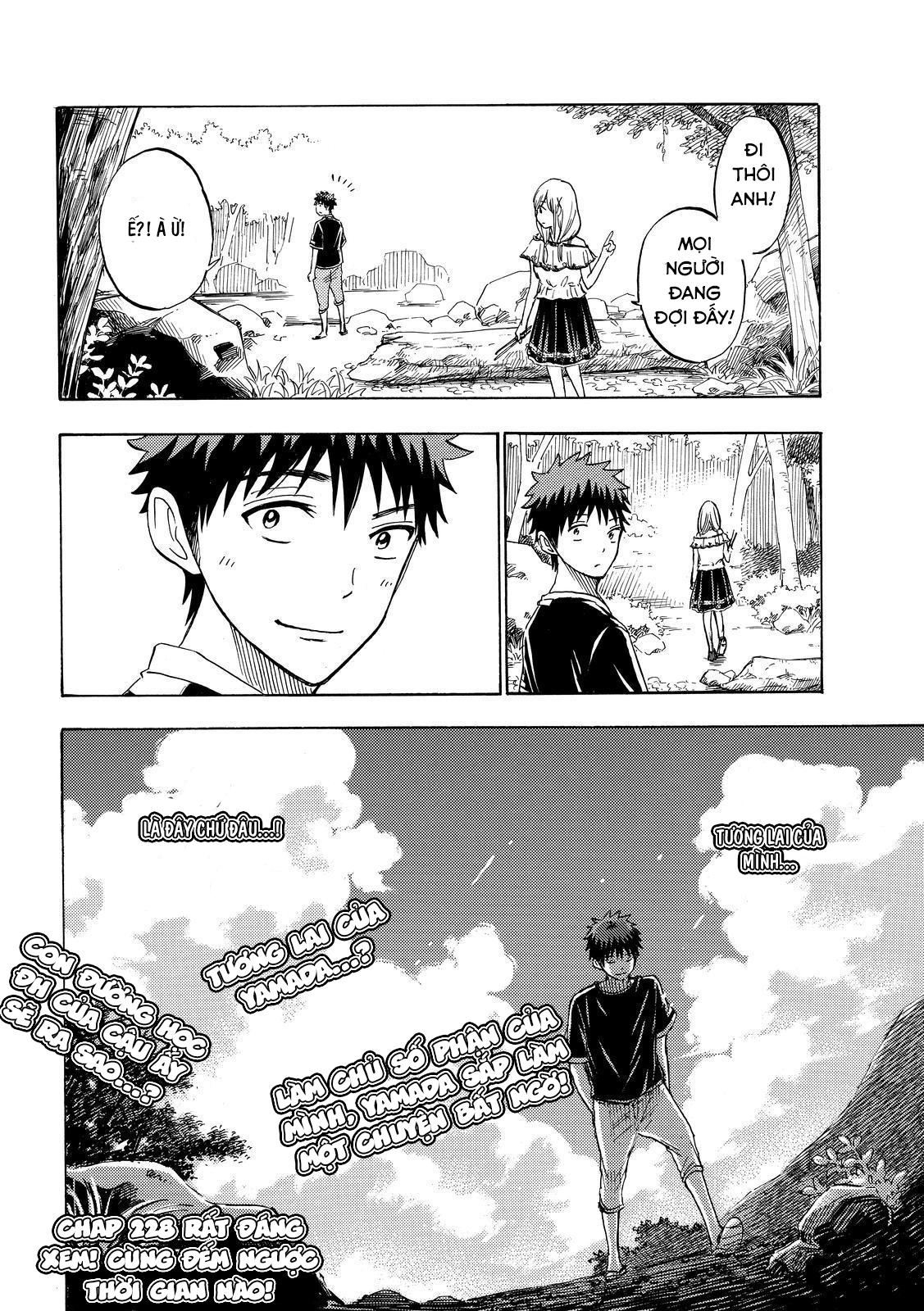 Yamada kun to 7 nin no Majo Chap 227 - Trang 20