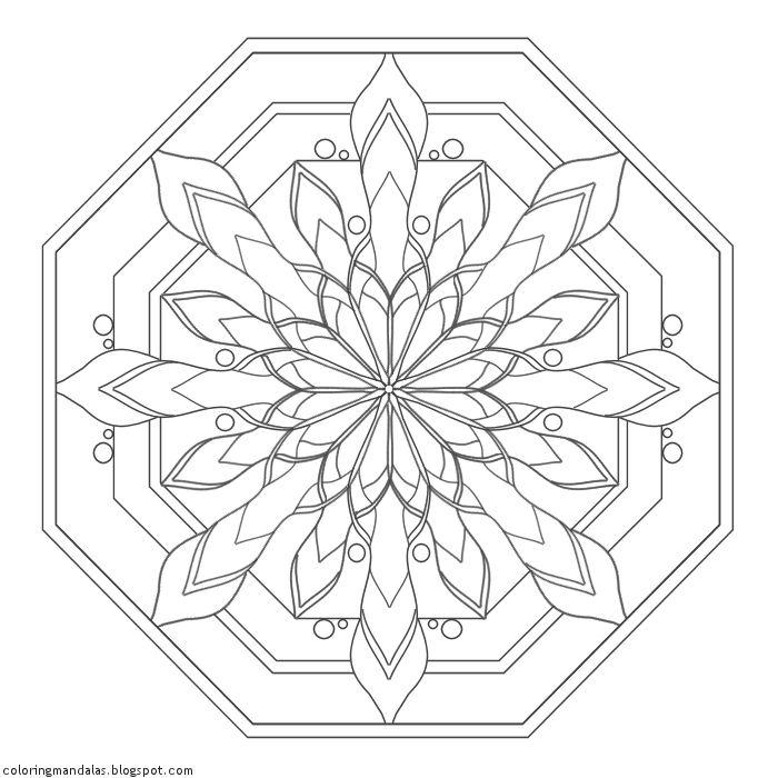 Coloring Mandalas 16 Serenity