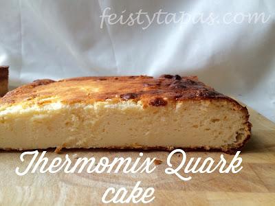 Thermomix Quark Cake