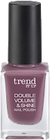 Preview: Die neue dm-Marke trend IT UP - Double Volume & Shine Nail Polish 250 - www.annitschkasblog.de