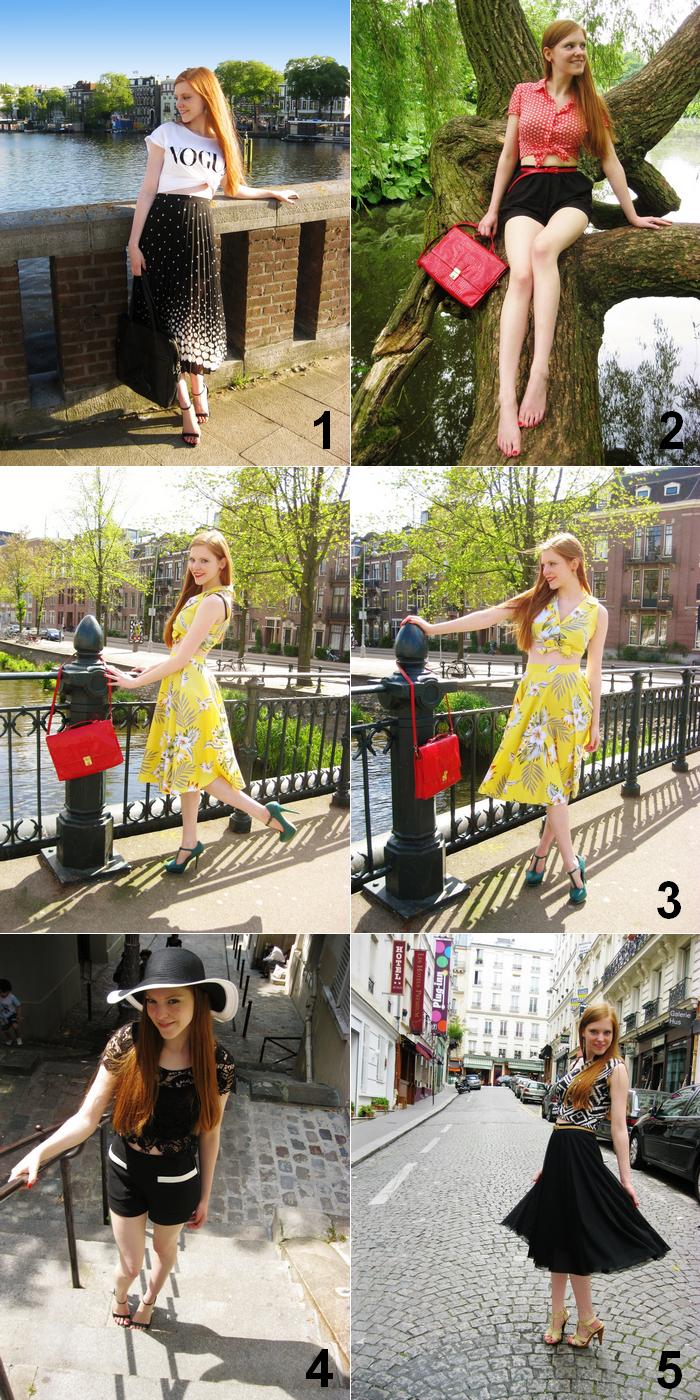Fashion blog outfits june summer 50s pinup vintage