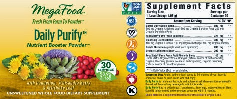 megafood purify nutrient blend