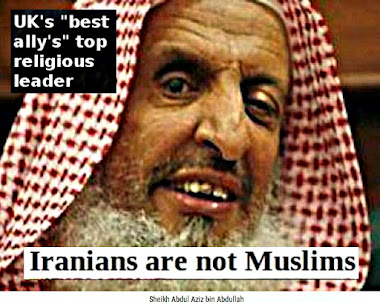 "BBC's/UK's best ""ally"" the muslim Saudi dictator family is the root of most islam induced suffering"
