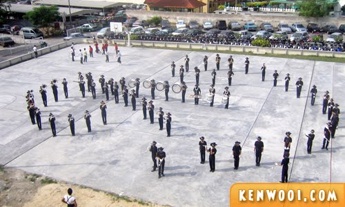marching band formation
