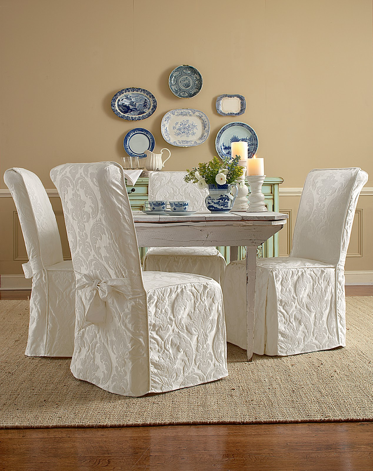 http://surefitslipcovers.blogspot.com/2014/03/super-easy-way-to-pretty-up-those.html