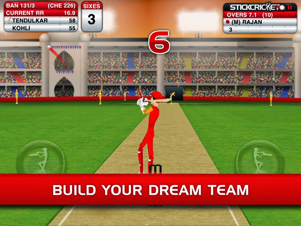 Stick Cricket Premier League apk game
