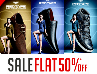 Fashionandyou: Buy Red Tape Shoes, Loafers at Flat 50% OFF – Only For Today
