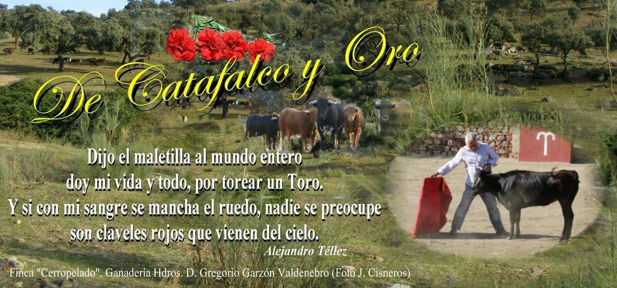 DE CATAFALCO Y ORO