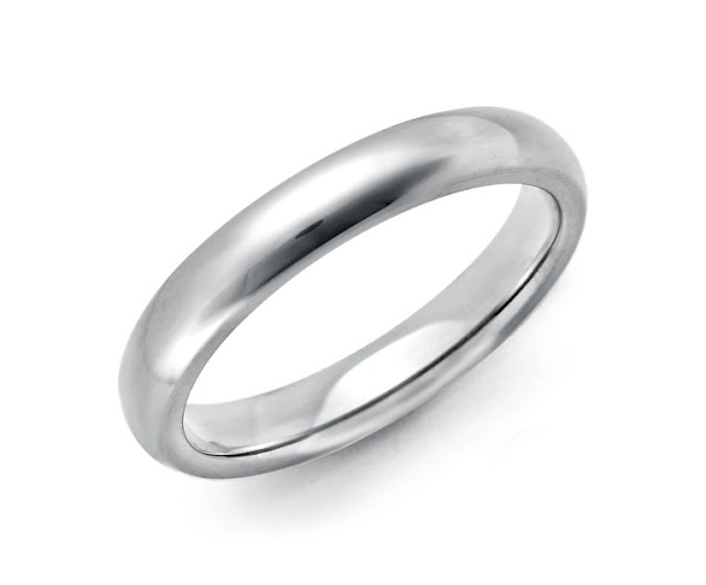 Comfort Fit Wedding Ring