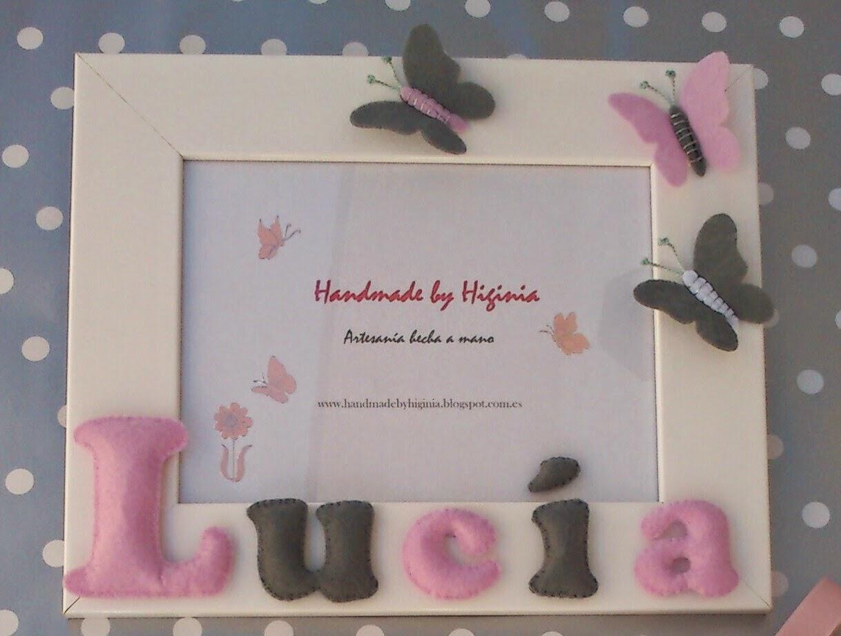 Handmade by Higinia: MARCO FOTOS PERSONALIZADO