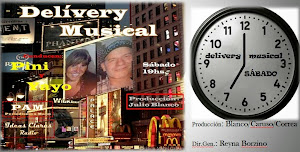 Delívery Musical de PAM&IdeasClaras. Sábado 19hs.