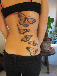 Great Butterfly Tattoos Ideas For Women