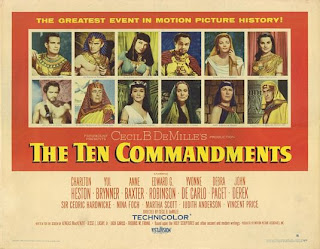 ten commandments movie essay