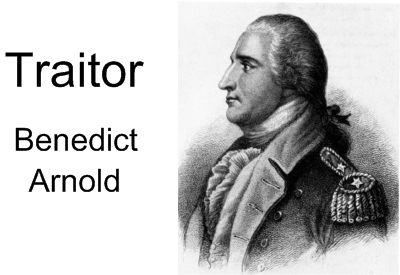 Simple Benedict Arnold Drawing