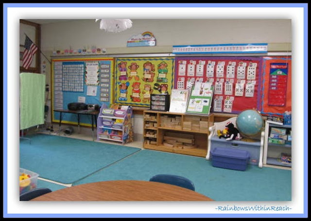 Focus Wall in Early Elementary (Classroom Decor RoundUP at RainbowsWithinReach)