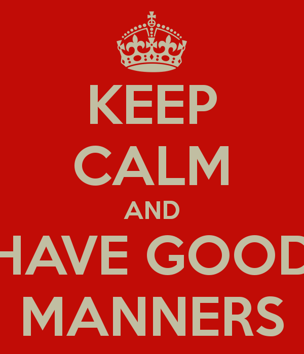 how good manners help us in Good manners are a set of behaviors that mark what are good manners an awareness of good manners and social rules of behavior can help to.