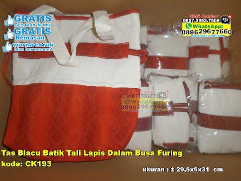 Tas Blacu Batik Tali Lapis Dalam Busa Furing grosir