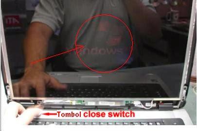 Memperbaiki Laptop Blank Hitam