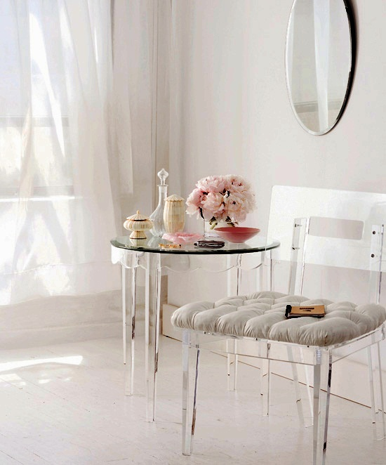 The Studio M Designs Blog Style With Acrylic Furnishings