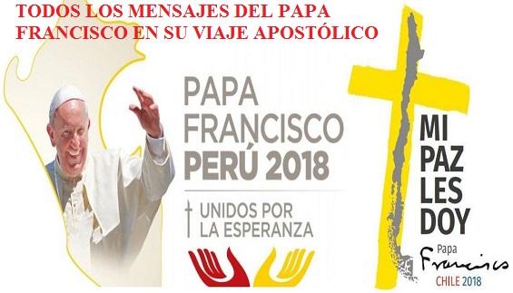 TODOS LOS DISCURSOS Y HOMILÍAS DEL PAPA FRANCISCO