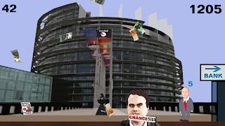 PARTEI Melkt Brüssel Game Leo Attack