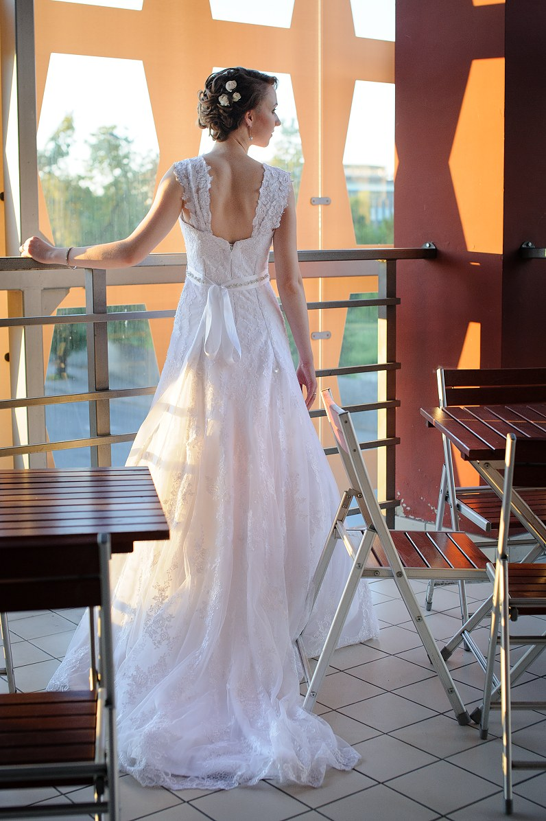 ispudinga vestuvinė suknelė