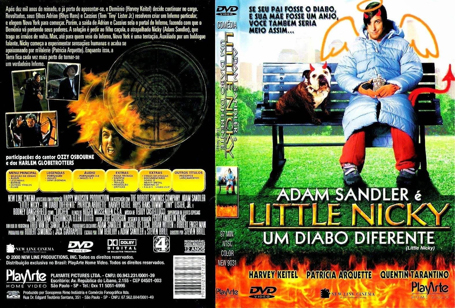 Filme Um Diabo Diferente DVD Capa