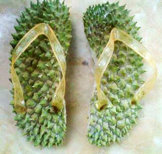 Sandal Therapi Dari Kulit Durian