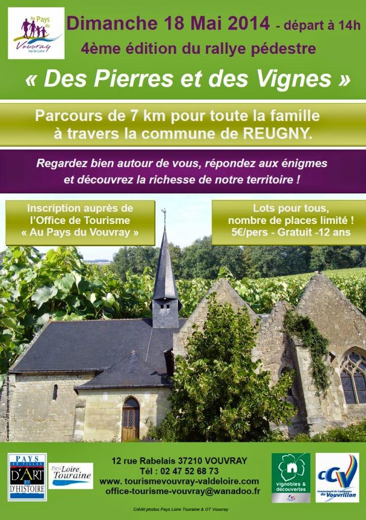 Reugny neuill rallye des pierres et des vignes reugny - Office de tourisme vouvray ...