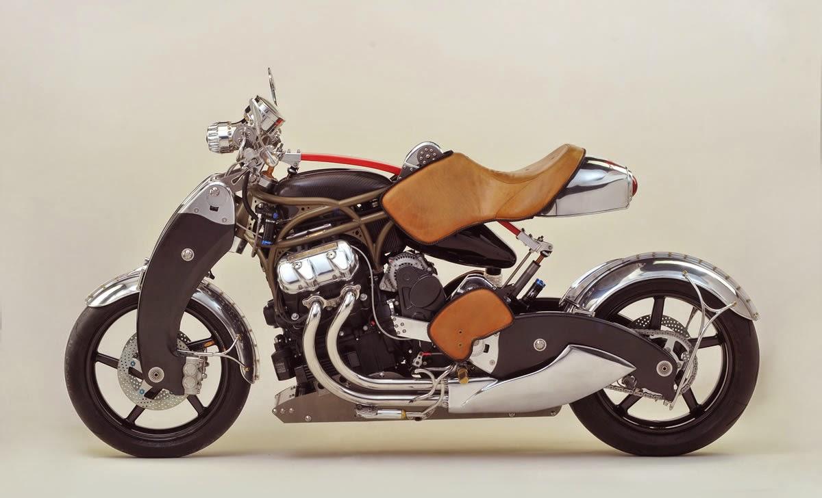 Bienville Motorcycle leaf spring rear suspension
