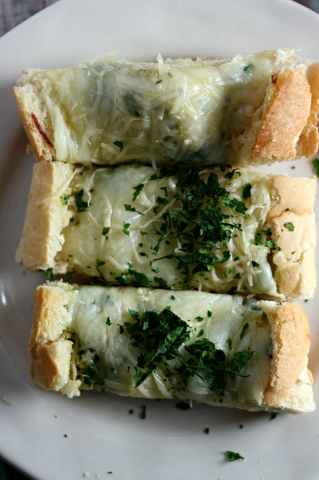 Easy, Cheesy French Bread