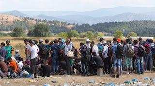 Μετά την απομάκρυνση των μεταναστών από την Ειδομένη, τα σύνορα είναι ανοιχτά για τους πρόσφυγες...