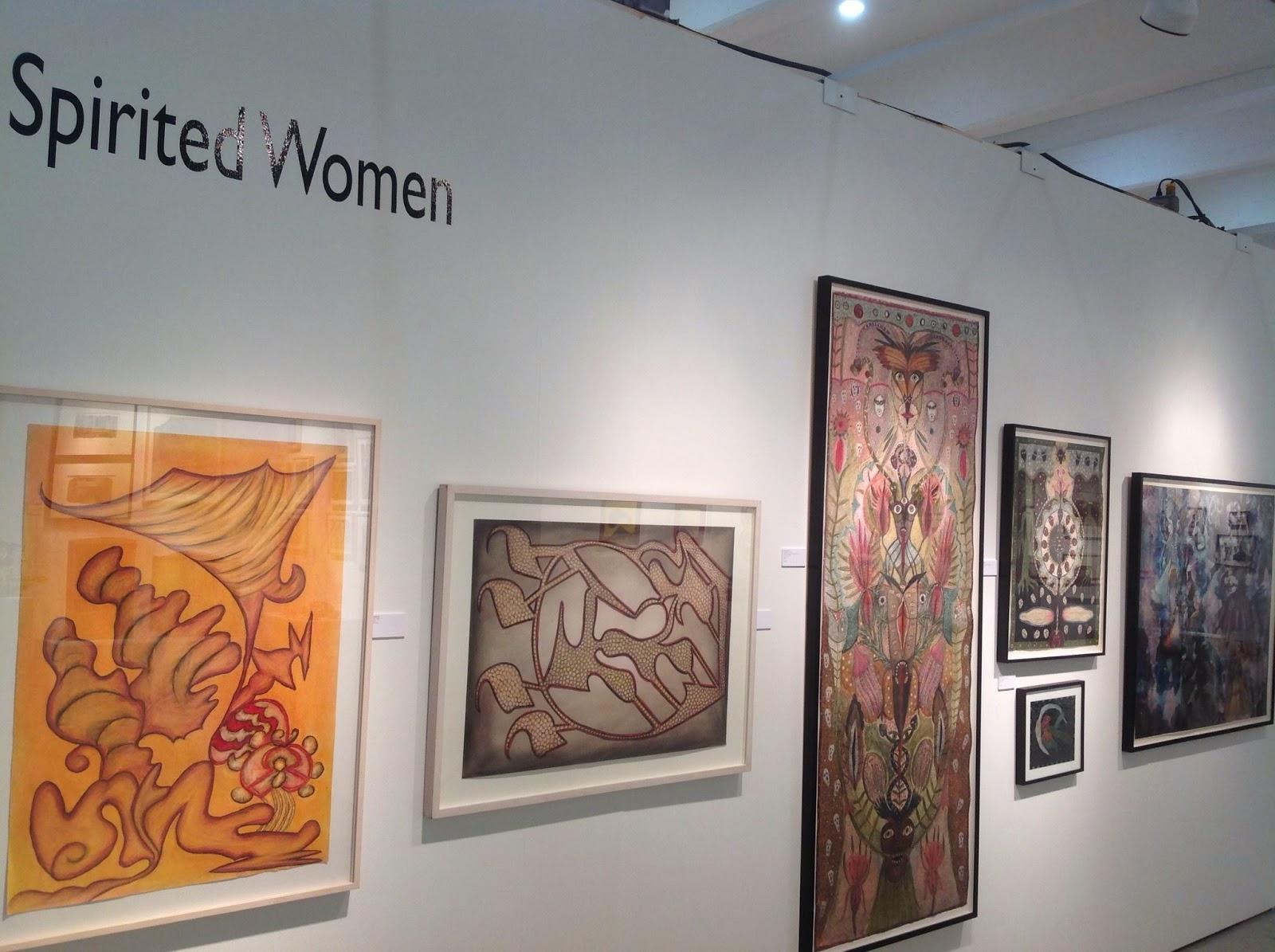 #Solange Knopf Spirited Women Outsider Art Fair 2014#