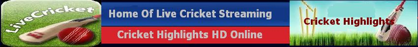 Live Cricket Streaming - Live Cricket Score - HD Video Streaming