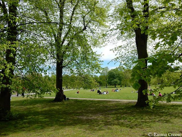 Bank holiday picnics London