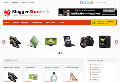 Download Template Online Shop Blogspot / Blogger - 3