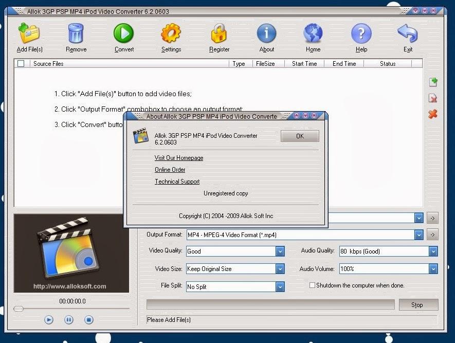 Allok Video to FLV Converter Full Free