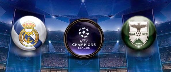 Real Madrid Vs Ludogorets