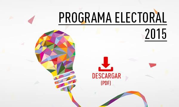 Programa Electoral PSOE 2015