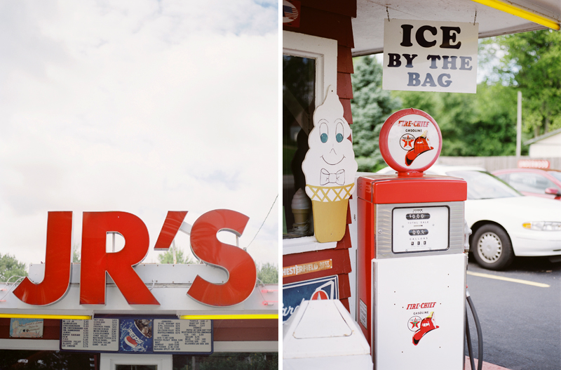 Personal Film Work, Film Photography, Ice Cream Drive In, Warsaw IN Film Photographer